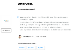 After Data recommande B.Conseil